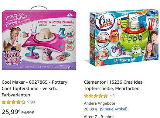 Amazon Suchergebnis Töpferscheiben für Kinder