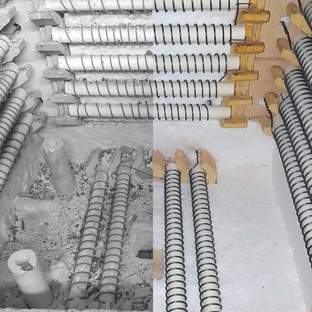 Reparaturservice Brennofen